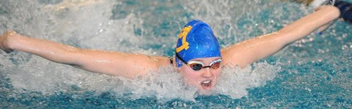 Abby Mele finished seventh in last year's 100-yard butterfly race. The Canon-McMillan senior looks to improve upon that place during the WPIAL championships set for Feb. 27-28 at the University of Pittsburgh.
